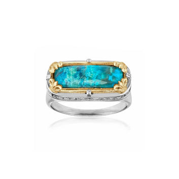 Anatoli Collection Chrysocolla Ring