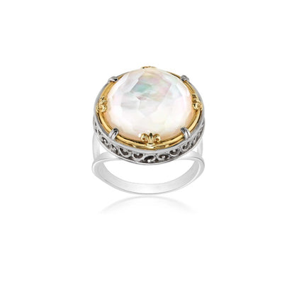 Anatoli Collection Mother of Pearl Ring