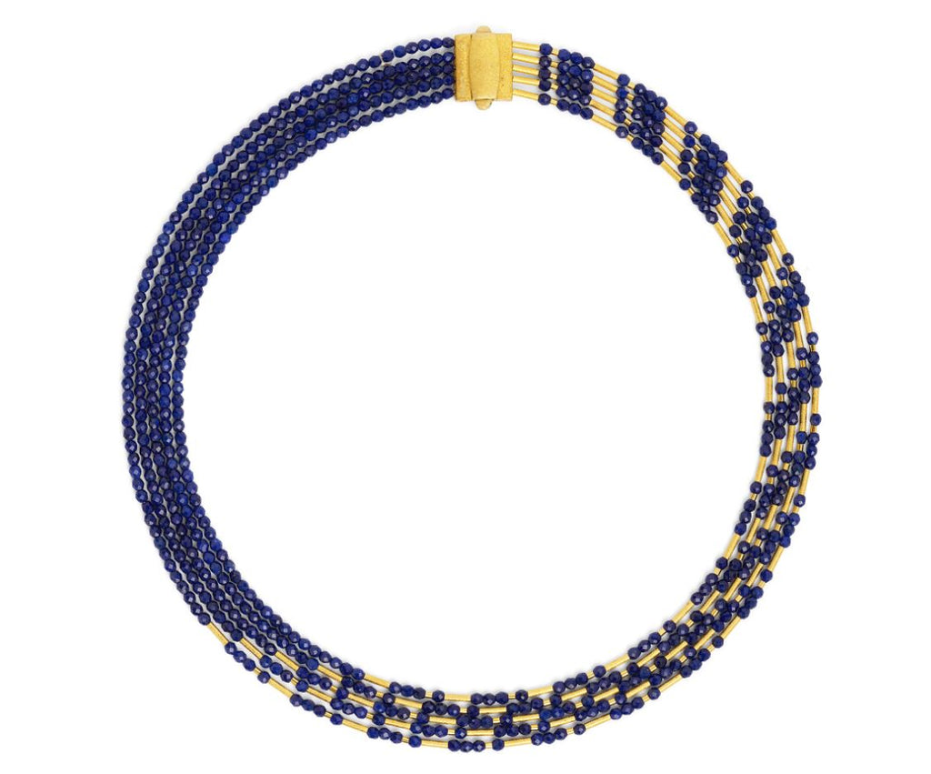 "Bernd Wolf Collection ""Cliopetra"" Lapis Necklace"