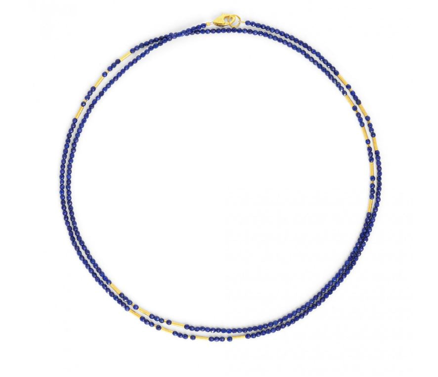 "Bernd Wolf Collection ""Landelon"" Lapis Necklace"