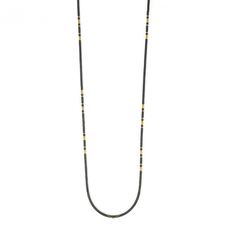 "Bernd Wolf Collection ""Cubalon"" Hematine Necklace"