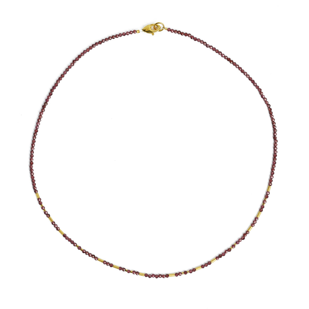 "Bernd Wolf Collection ""Tabaci"" Garnet Necklace"