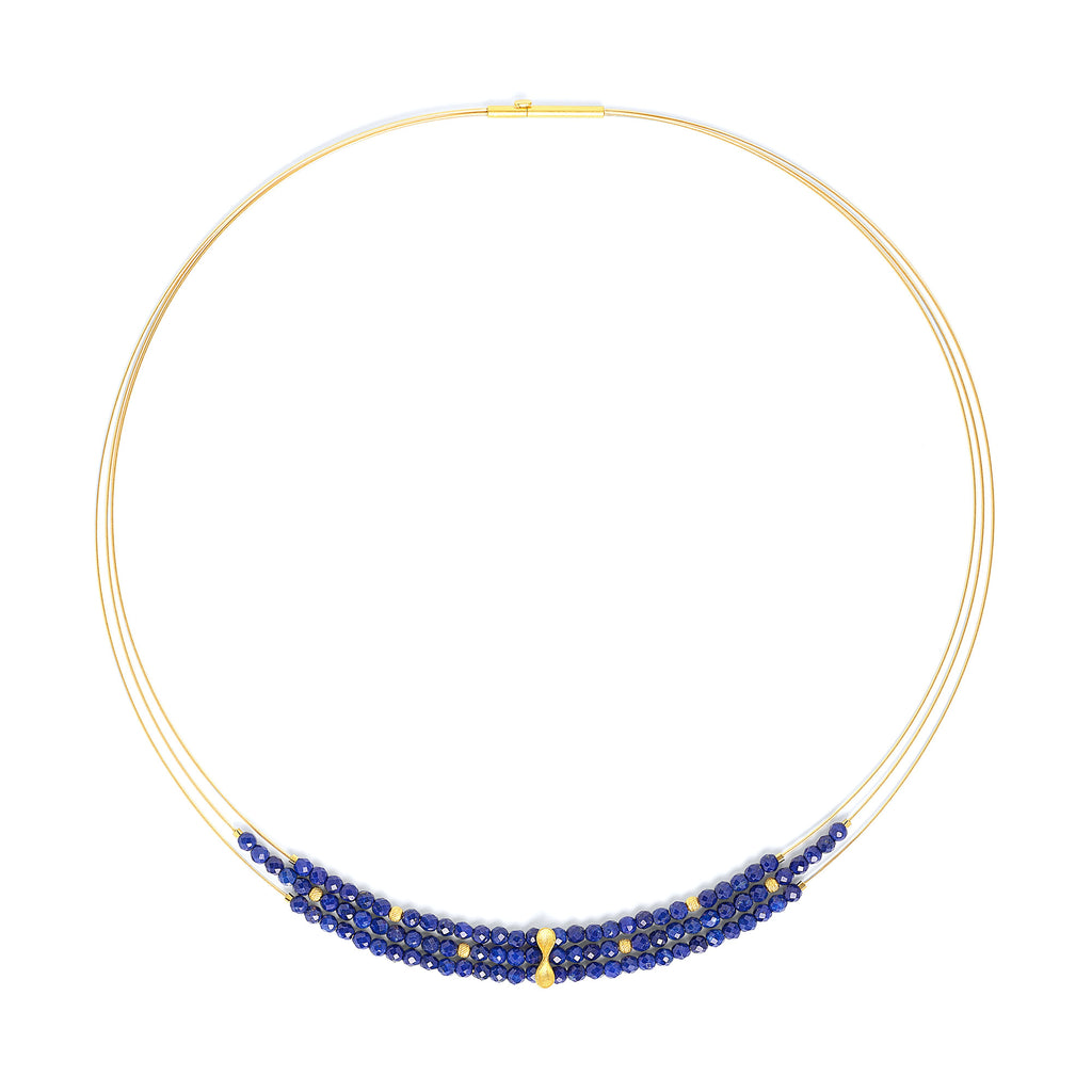 "Bernd Wolf Collection ""Infini"" Lapis Necklace"