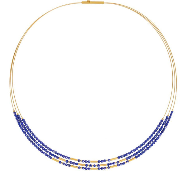 Bernd Wolf Collection Blue Lapis Necklace