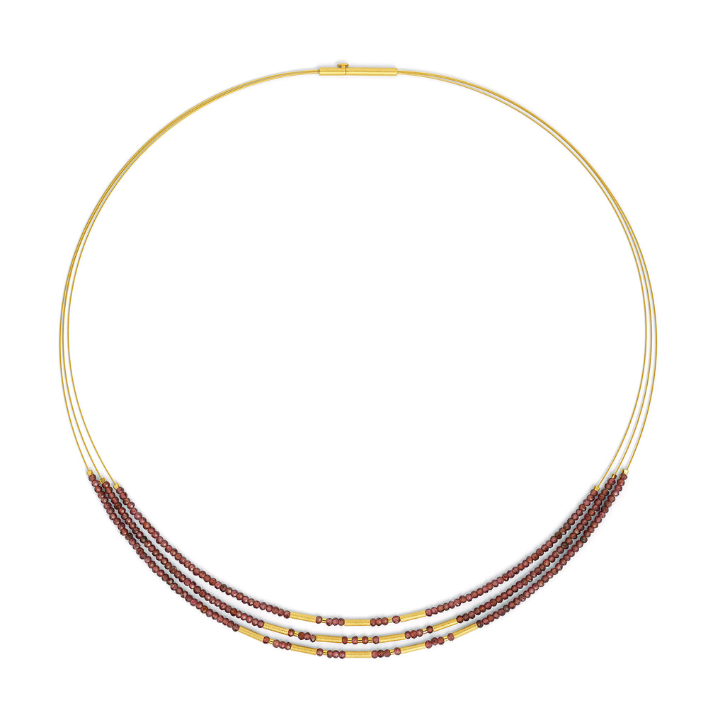 "Bernd Wolf Collection ""Clani"" Garnet Necklace"