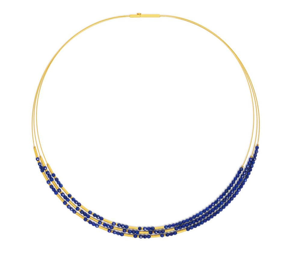 "Bernd Wolf Collection ""Clini"" Lapis Necklace"