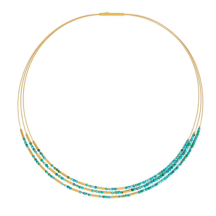 "Bernd Wolf Collection ""Clini"" Turquoise Necklace"