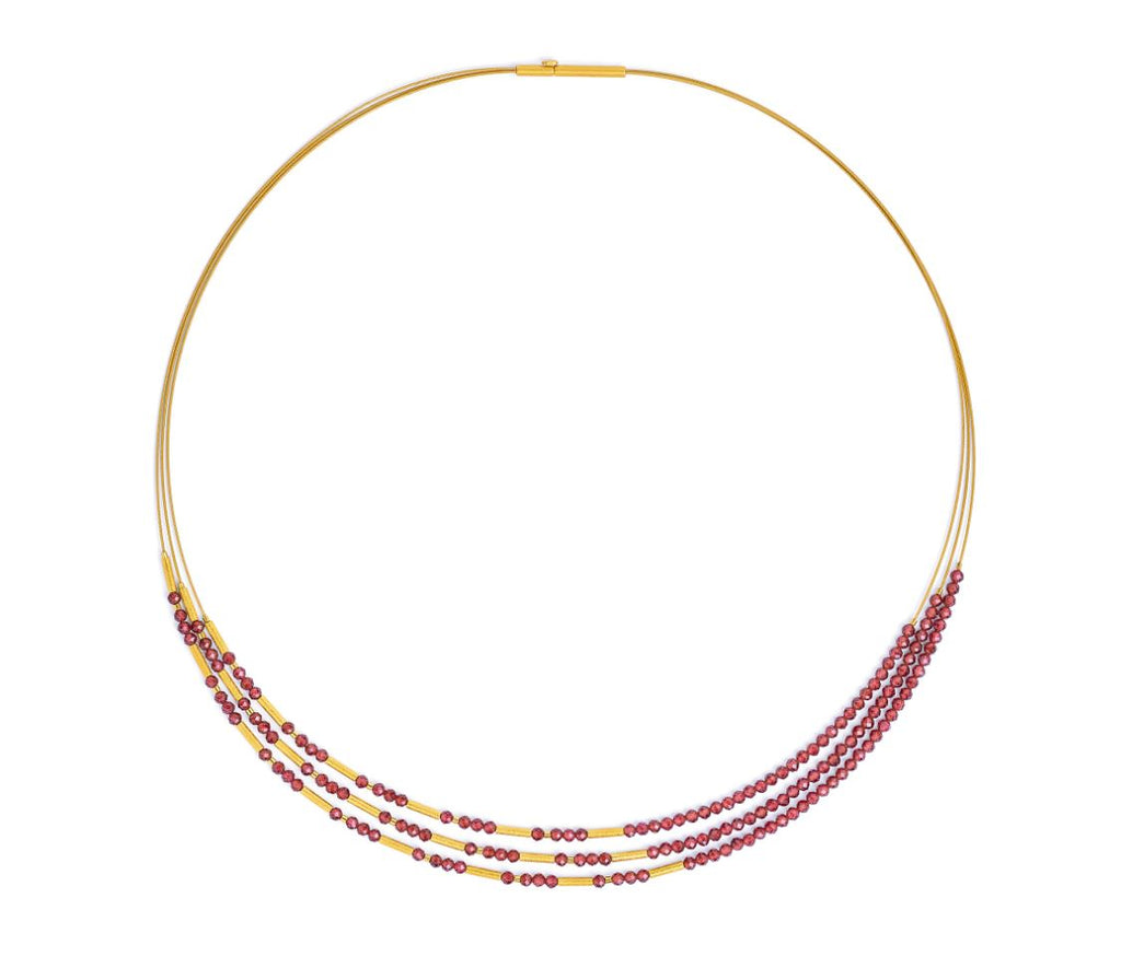 "Bernd Wolf Collection ""Clini"" Garnet Necklace"