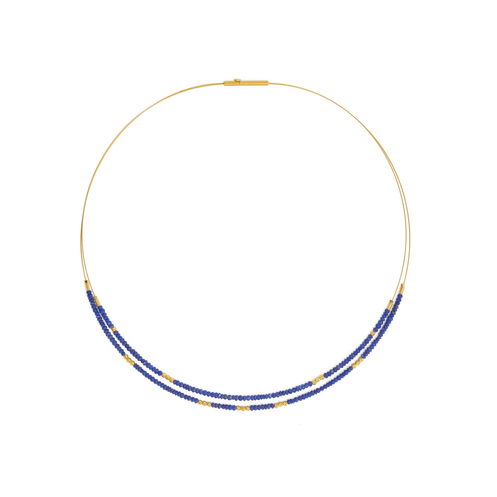 "Bernd Wolf Collection ""Linda"" Blue Lapis Necklace"