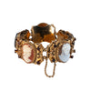 Estate Collection Antique Cameo Slide Bracelet