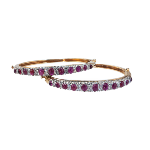 Estate Collection 5CT Ruby & Diamond Bracelet