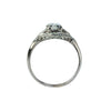 Estate Collection Art Deco Platinum Diamond Ring