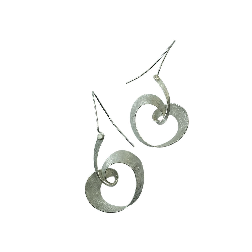 Mysterium Collection Sterling Heart Earrings