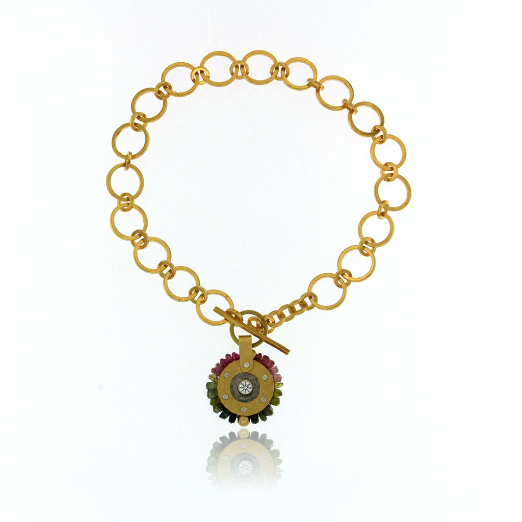 Mysterium Collection Vermeil Tourmaline Bracelet