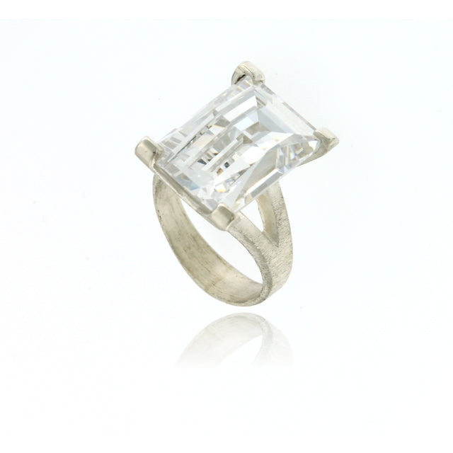 Mysterium Collection Sterling Silver Cocktail Ring