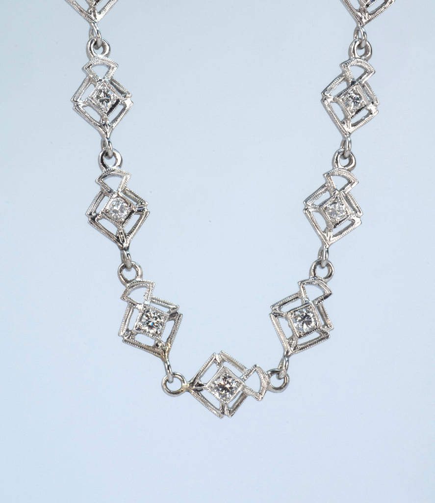 Estate Collection Diamond Necklace