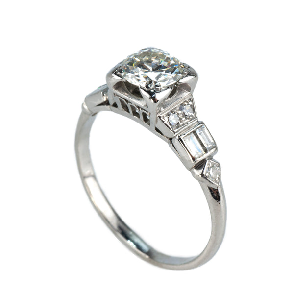 Estate Collection Art Deco Diamond Engagement Ring