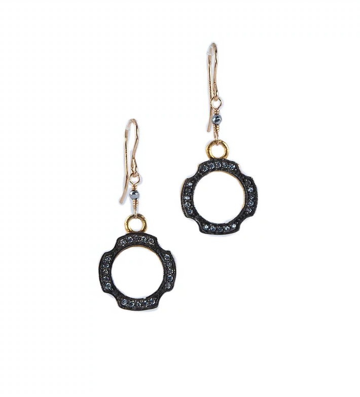 Anna Hollinger Zirconia Earrings