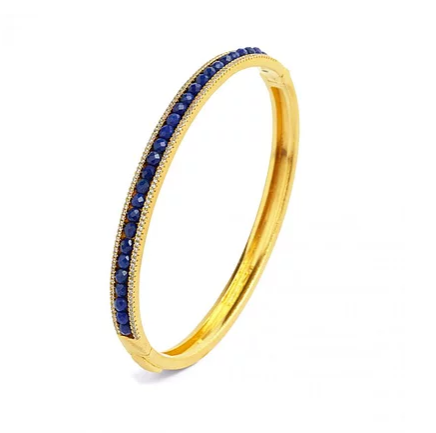 Bernd Wolf Collection Blue Lapis Bangle