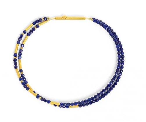 Bernd Wolf Collection Blue Lapis Bracelet