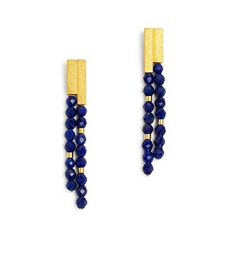 "Bernd Wolf Collection ""Yanizzi"" Lapis Earrings"