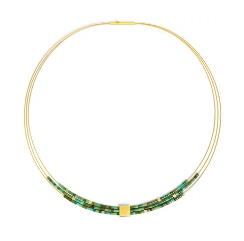 "Bernd Wolf Collection ""Quanta"" Turquoise Necklace"