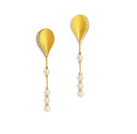 Bernd Wolf Collection Freshwater Pearl Earrings