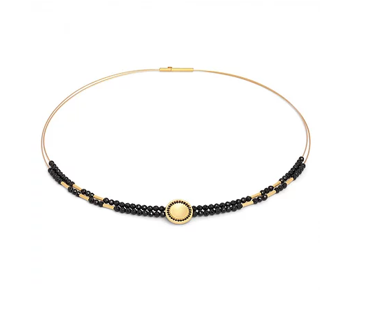 "Bernd Wolf Collection ""Corelli"" Black Spinel Necklace"