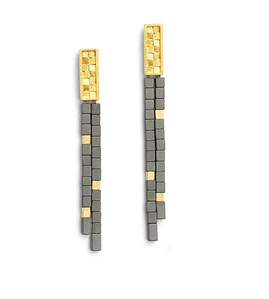 Bernd Wolf Collection Hematite Earrings