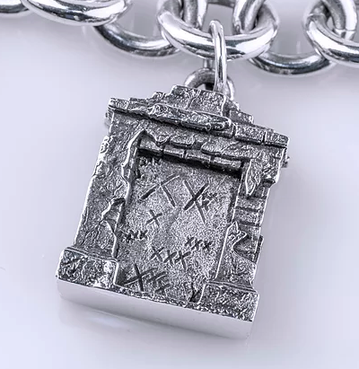 Tom Mathis Designs Sterling Silver Marie Laveau Tomb Charm