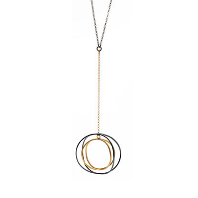 Mysterium Collection Wavy Circle Pendant
