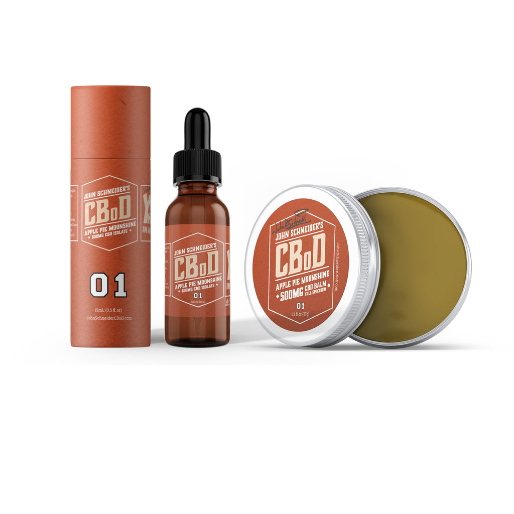 John Schneider's CBoD BUNDLE: 15mL + Balm (Save over 10%!)