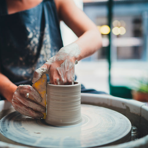 Intro to Pottery Wheel & Clay