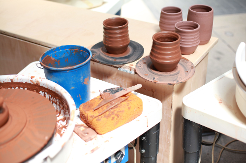 October-November 6-week online Intro to Pottery Wheel Classes (w/ Open Studio Hours)