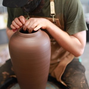 Throwing Large & in Charge Class: Jan.-Feb. 6-week online (w/ Open Studio Hours)