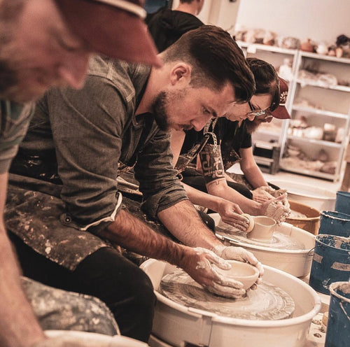 February 1-Time Pottery Wheelthrowing and Handbuilding Class
