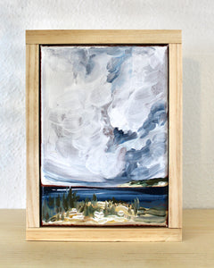 Turner- 5x7 Framed Original Landscape Painting