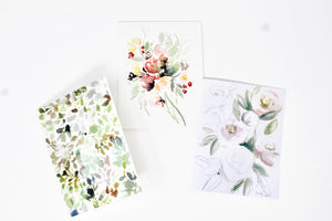 The Florist Greeting Card Collection- 3 Pack
