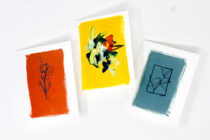 Botanical Greeting Card Collection- 3 Pack