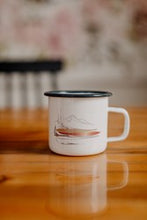 Load image into Gallery viewer, 14oz Steel Mountain Landscape Art Mug