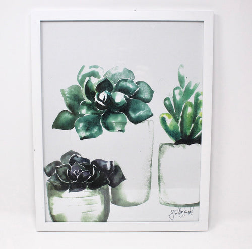 Succulent Art Print (2), Gallery Wall, Home Decor, Simple, Painting 11x14
