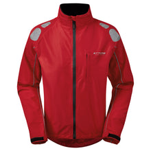 Load image into Gallery viewer, Ettore Night Eagle Mens Waterproof Breathable High Visibility Red Cycling Jacket