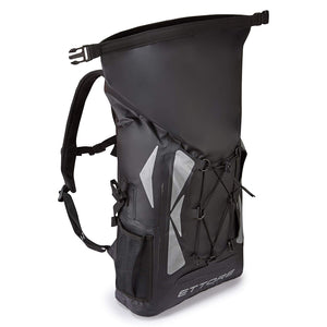 Ettore Eclipse Cycling Rucksack 100% Waterproof Dry Bag 30L Black