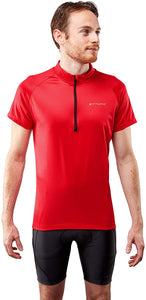 Ettore Vesica Mens Breathable Quick Dry Cycling Jersey Top Short Sleeve