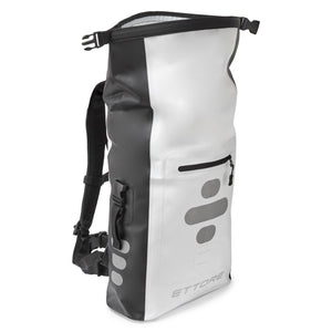 Ettore Sonar Cycling Rucksack 100% Waterproof Dry Bag Black/White