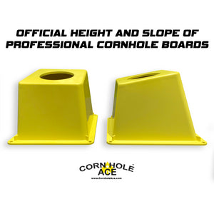 CornholeAce Cornhole Airmail Box Official Height and Slope of Cornhole Boards