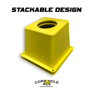 CornholeAce Cornhole Airmail Box Stackable Design