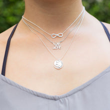 "Load image into Gallery viewer, ""Infinite Love"" Infinity Necklace"