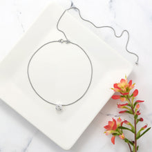 Load image into Gallery viewer, Adjustable Box Chain and Ball Necklace