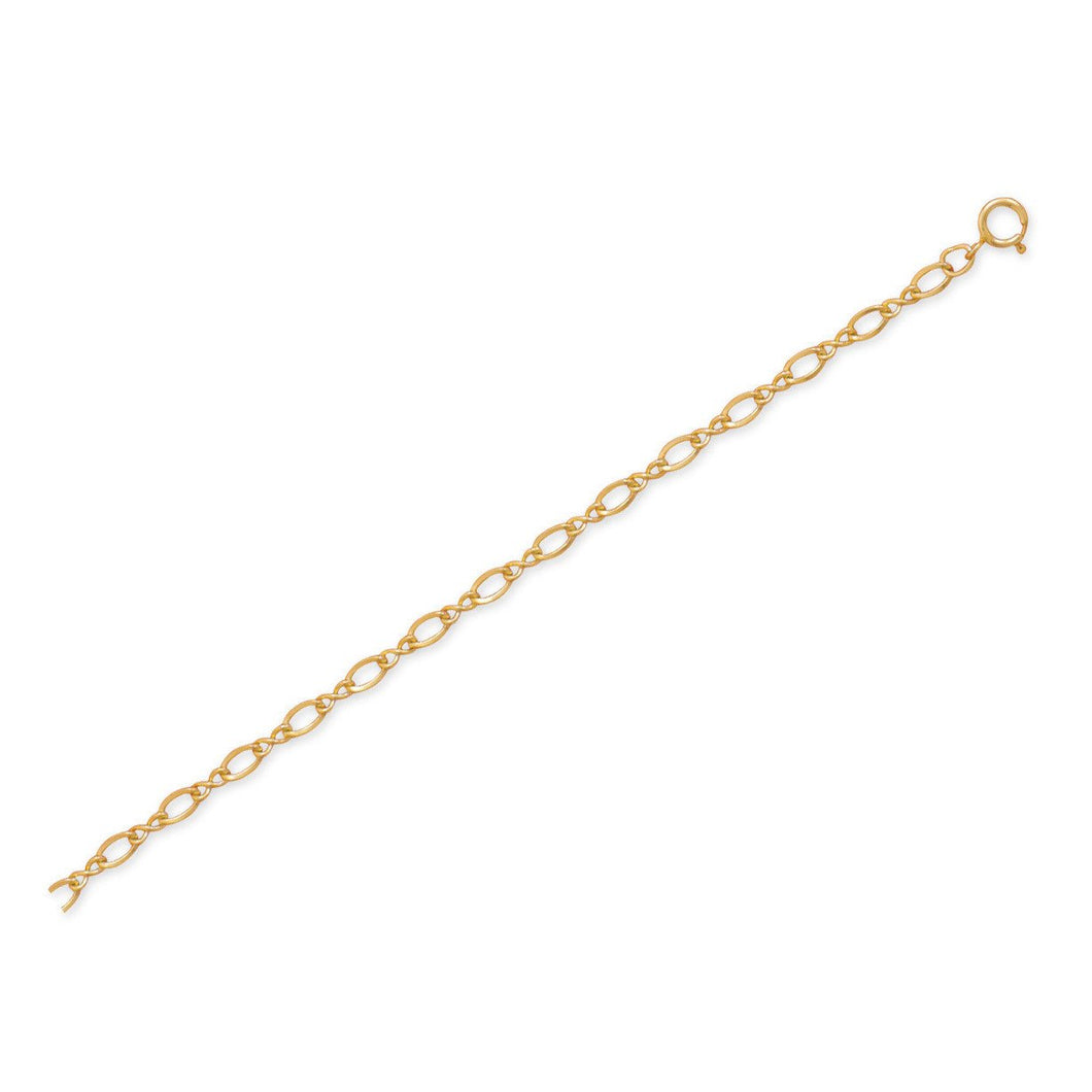 14/20 Gold Filled Figure 8 Chain Anklet